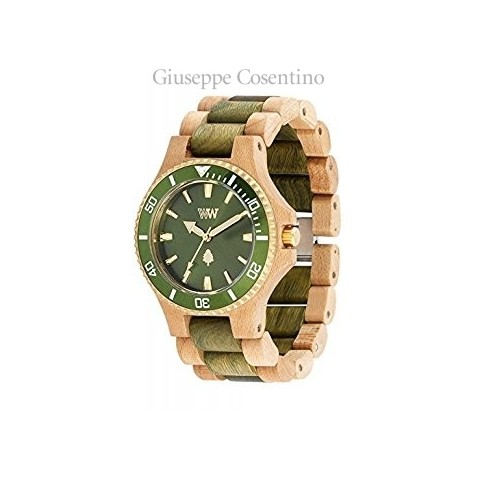 OROLOGIO WEWOOD - DATE MB BEIGE GREEN