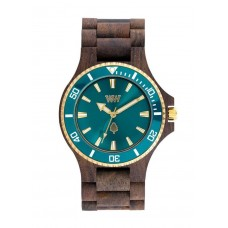 WATCH WEWOOD - DATE MB Choco Rough Emerald
