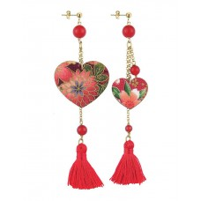 Lebole, Kokoro Red earrings
