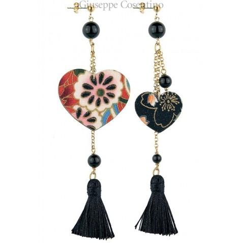Lebole, Kokoro Black earrings