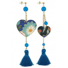 Lebole, Kokoro Blue earrings