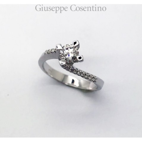Valentino solitaire ring