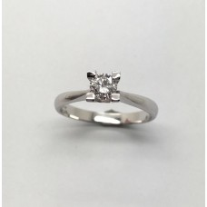 Classic model Solitaire ring