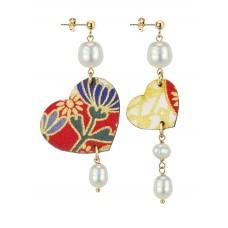 Lebole, Kokoro pearl earrings