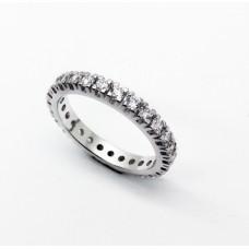 Eternity round ring
