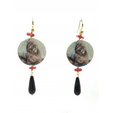 """Pizzomunno & Cristalda"" earrings"