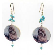 """Pizzomunno & Cristalda"" earrings"