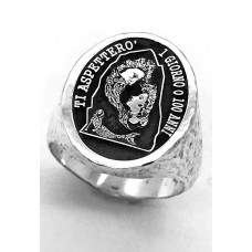 """Pizzomunno & Cristalda"" ring"