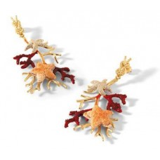 Misis, Gorgonia Earrings