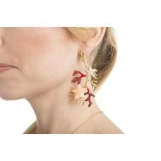 Misis, Gorgonia Earrings