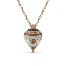 AZHAR, Decorated Spinning Top Necklace